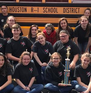 Choir with Trophy