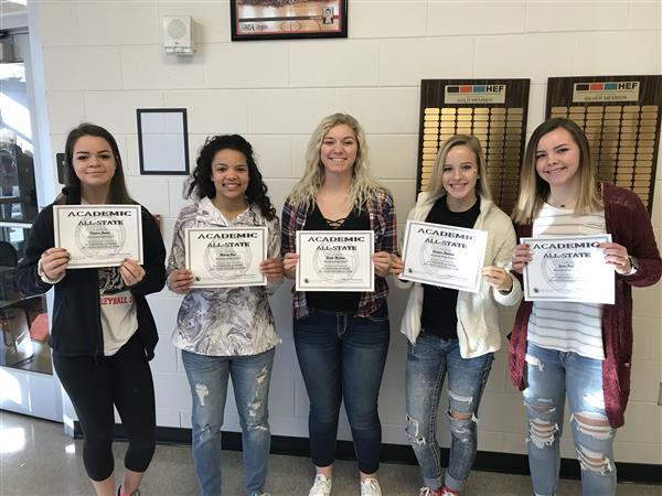 Academic All-State girls