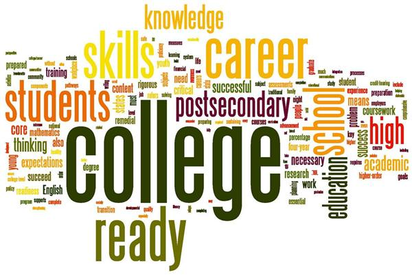 Word art for college fair
