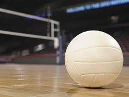 Volleyball and Gym floor