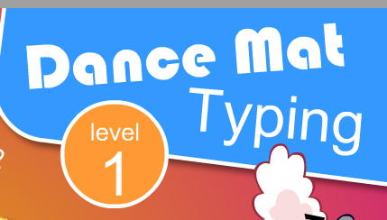 DanceMat Typing