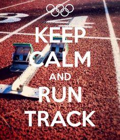 Keep Calm and Run Trac